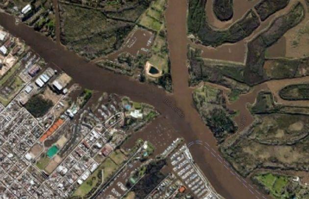 El siniestro se produjo en el canal Vinculación y el Río Luján.