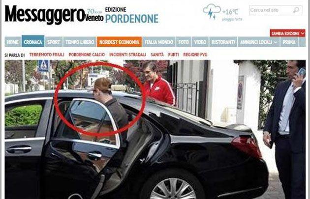 Messi en la la localidad italiana de Sacile, según el Messaggero Veneto.