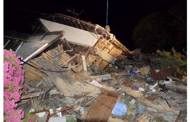 Japón fue sorprendido por un potente sismo.