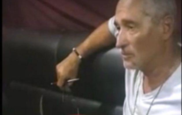Chueco, mientras respondía las preguntas de la policía paraguaya.