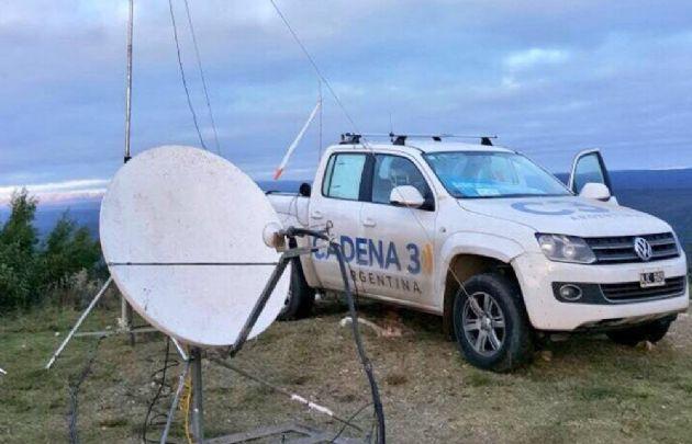 Cadena 3 en el Rally Argentina.