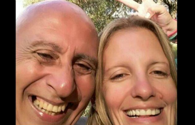 Hugo Salas (izquierda) está acusado de asesinar a Carina Drigani (derecha).