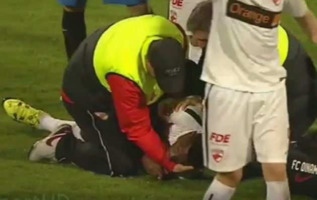 Patrick Ekeng murió a los 70 minutos del partido.