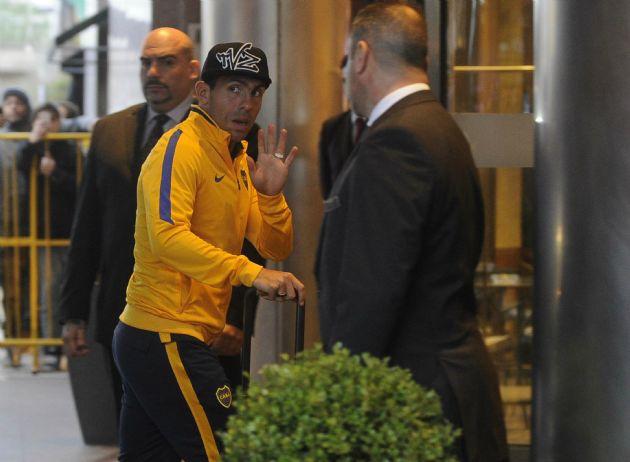 Tevez se refrió a la situación actual del fútbol.