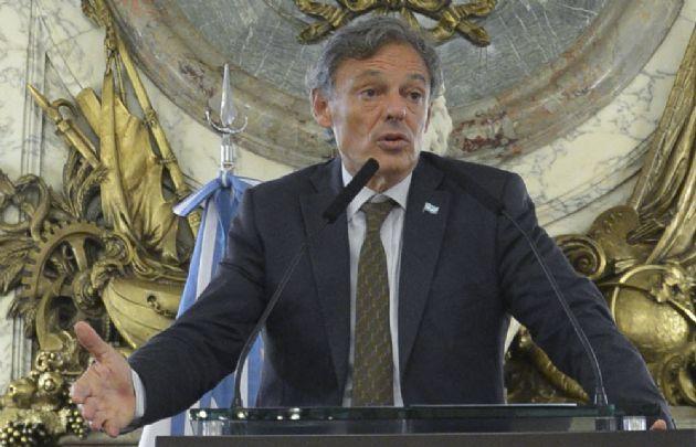Francisco Cabrera, ministro de Producción.