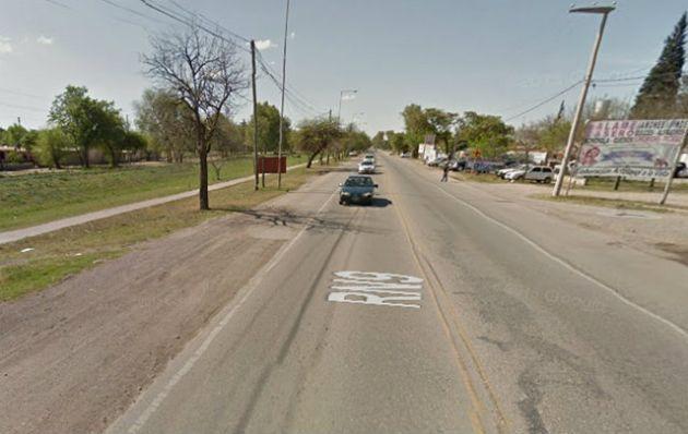 El accidente ocurrió en la ruta 9 norte (Foto: Google Street View)