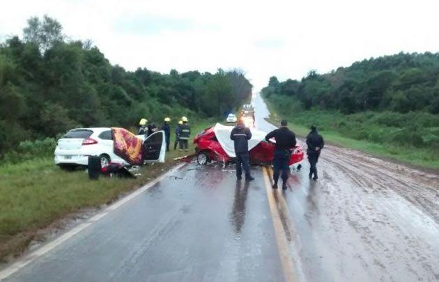Choque fatal en Misiones (Foto: misionescuatro.com)
