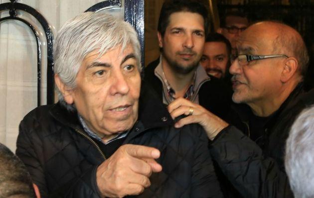 El dirigente reivindicó las protestas de la semana pasada.