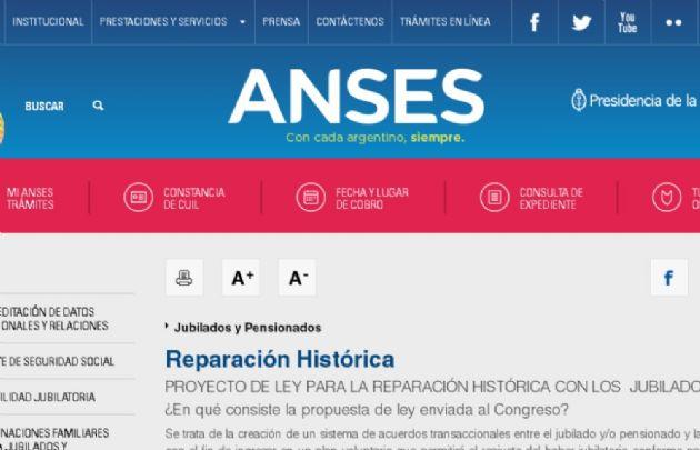 Reparación histórica del Bicentenario para los jubilados