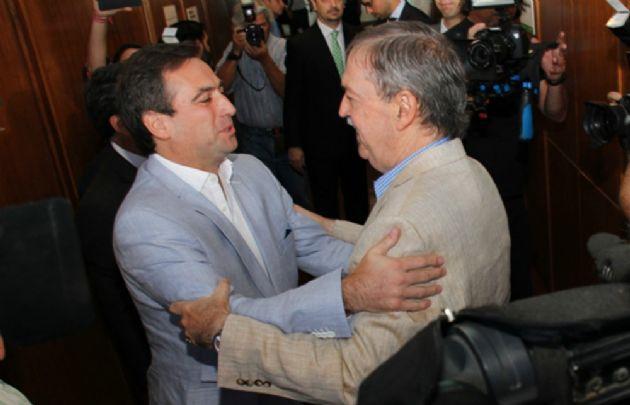 Mestre y Schiaretti (Foto: Archivo)