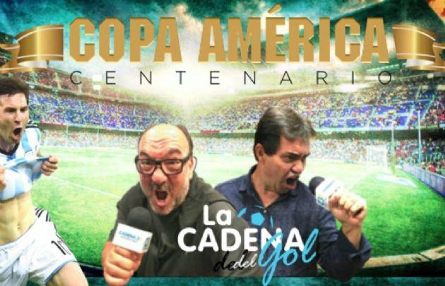 Cadena 3, la radio oficial de la Copa América Centenario.