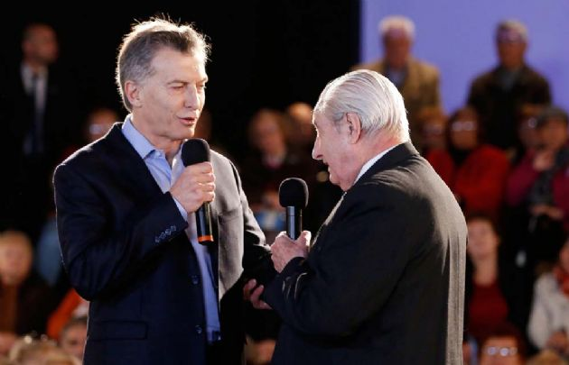 """Macri trabajará """"para devolverle a los jubilados el dinero que les corresponde""""."""