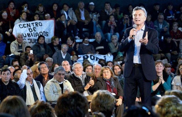 """Macri: """"Esta noticia marca el final de una etapa de años de abandono del Estado""""."""
