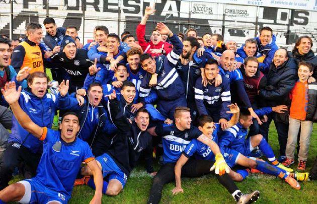 En cancha de All Boys, Talleres celebró el retorno a Primera en junio de este año.