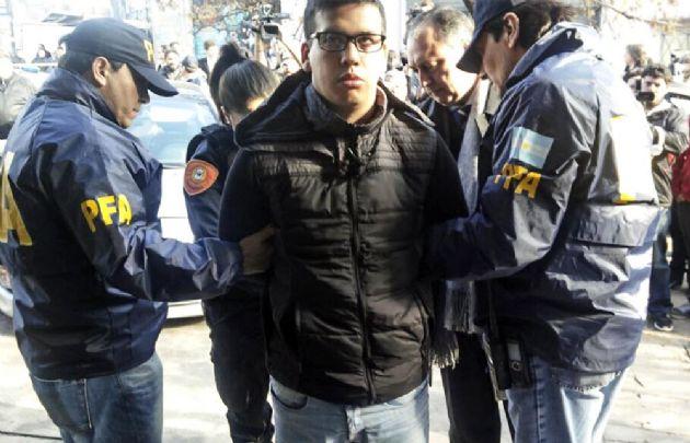 """""""Monchi"""" Cantero fue detenido en junio de 2016 en la Ciudad de Buenos Aires."""