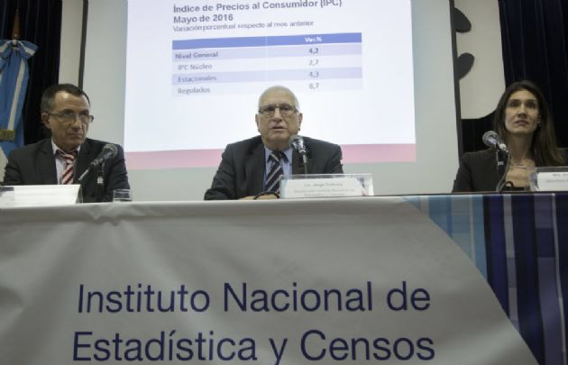 Todesca informó que la inflación de mayo fue del 4,2%.