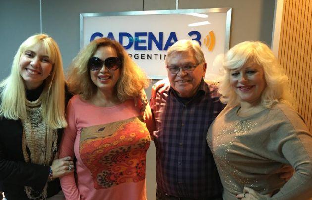 Beatriz Salomón y Luisa Albinoni visitaron Cadena 3.