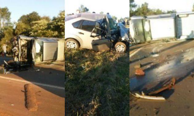El choque protagonizado por un intendente dejó un muerto (Foto: MisionesOnLine).