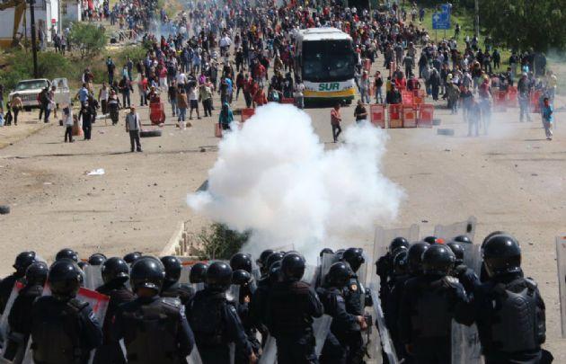 El estallido docente en México