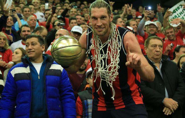 Walter Herrmann, elegido como el 'Jugador más valioso' (MVP).