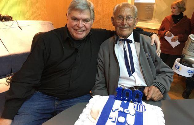 Paco Cabasés celebró sus 100 años en Viva la Radio.