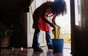 Las empleadas domésticas lograron un aumento del 24%.