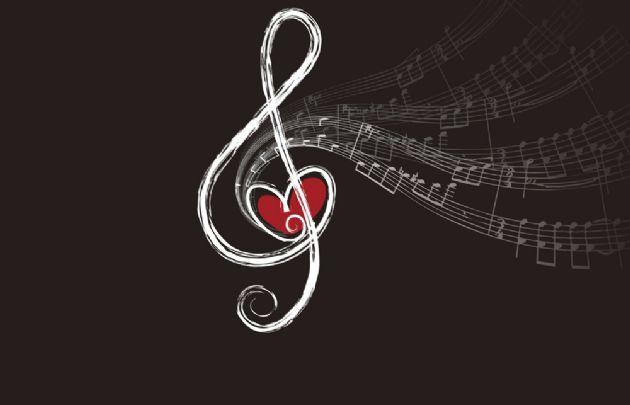 Algunas estrellas combinan amor y música.