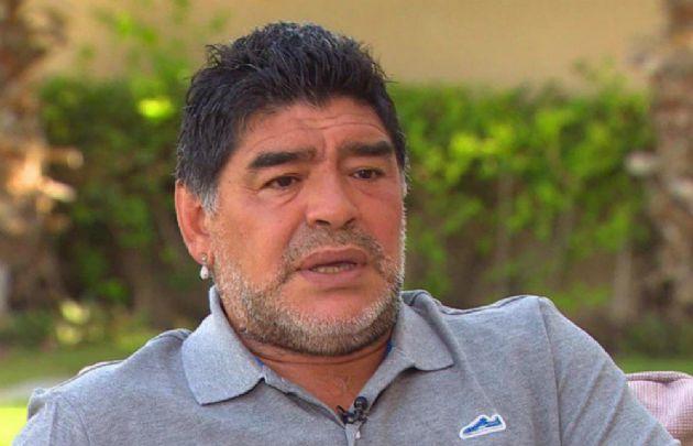Diego dijo que a los campeones del 86 no los tienen en cuenta.