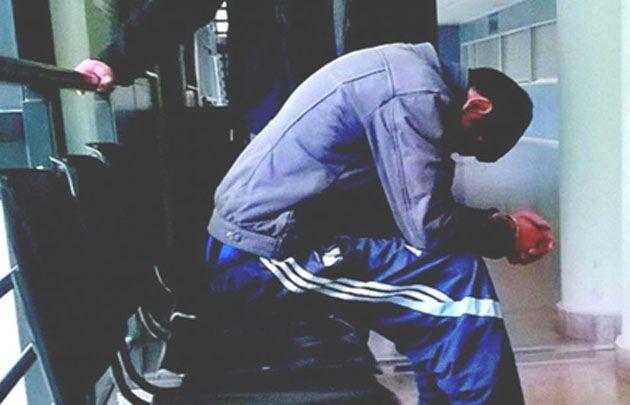El Ministerio Público de Salta difundió la imagen del hombre detenido.