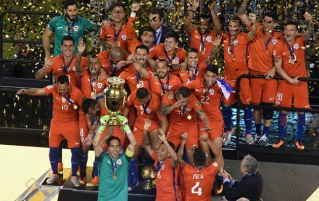 Chile ganó por penales y festejó otra Copa América.