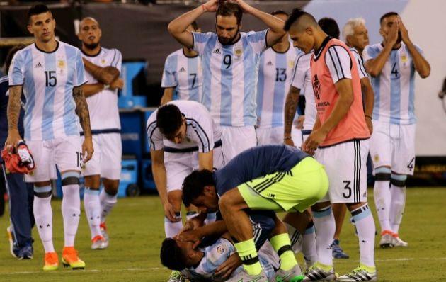 Argentina tiene un karma en las finales desde 1993.