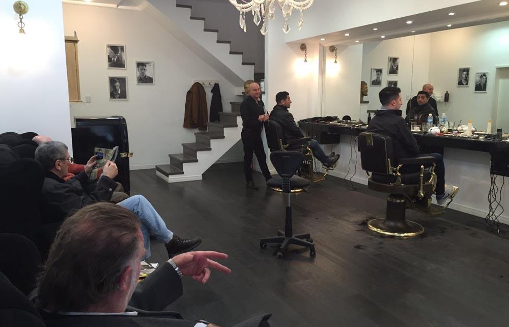 Hombres a la moda crece la tendencia de las barber as - La barberia de vigo ...