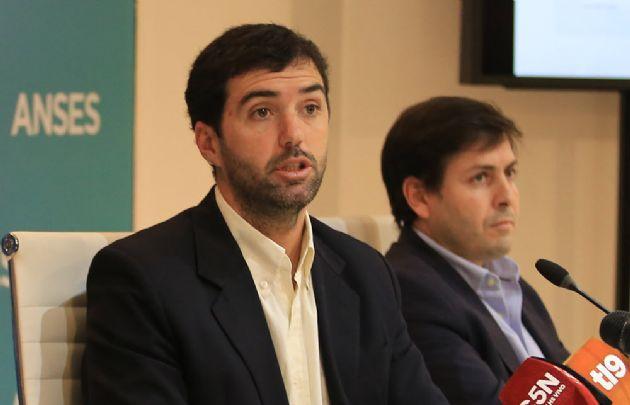 Emilio Basavilbaso, director de Anses.