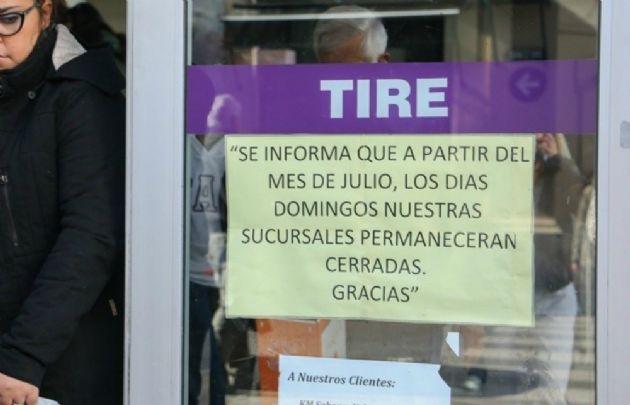 En Rosario rige la ley de descanso dominical (Foto: rosario3.com)
