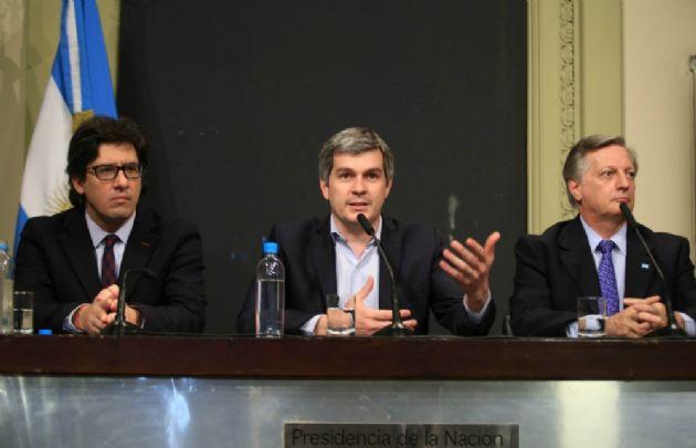 Los ministros Garavano, Peña y Aranguren anunciaron las modificaciones tarifarias.