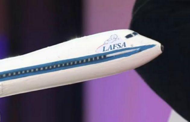 LAFSA, la compañía aérea sin aviones.