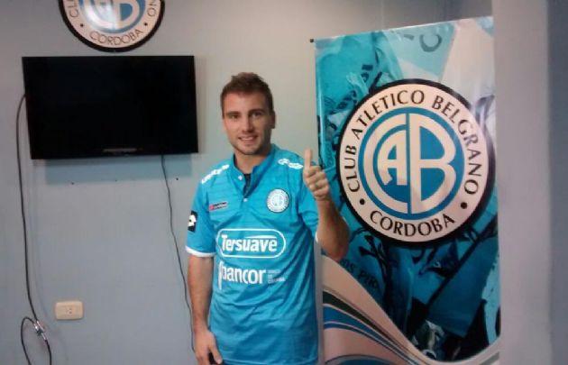 Mariano Barbieri selló su vínculo con Belgrano.