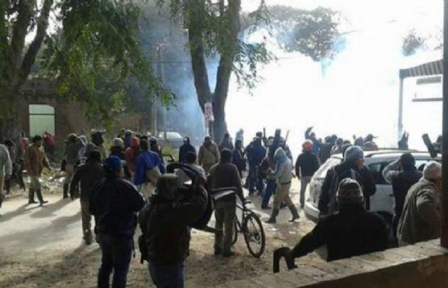 Represión en el ingenio Ledesma en Jujuy