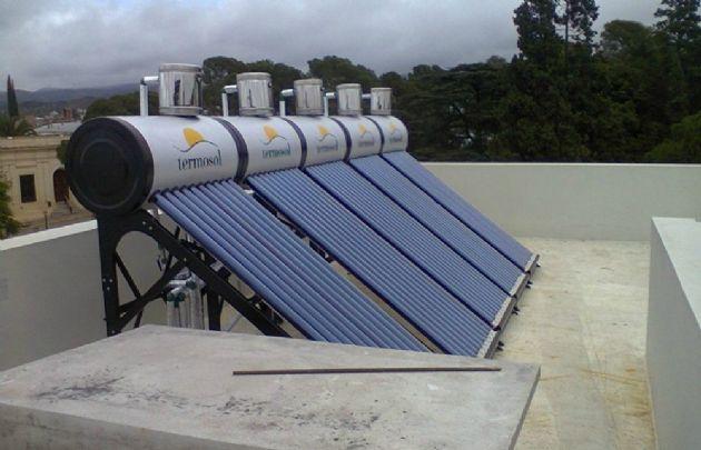 La instalación de termotanques solares ha aumentado en los últimos tiempos.