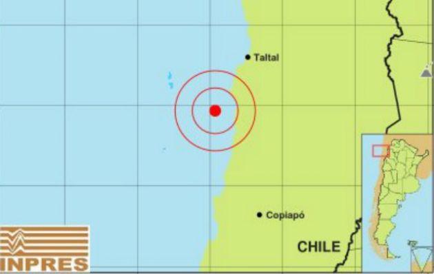 El sismo fue de 5.9 grados en la escala Richter.