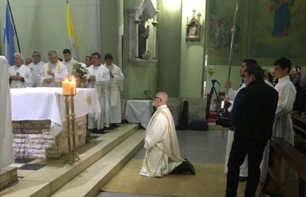 Alberto Roselli fue ordenado diácono para la diócesis de Río Cuarto.