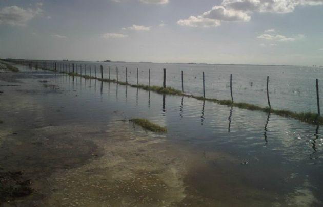 Miles de hectáreas son lagunas permanentes, que destruyen la producción en la región.