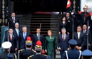 Mauricio Macri participó de la asunción del presidente de Perú.