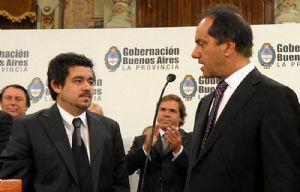 Alejandro Arlía fue ministro de Infraestructura de Daniel Scioli.