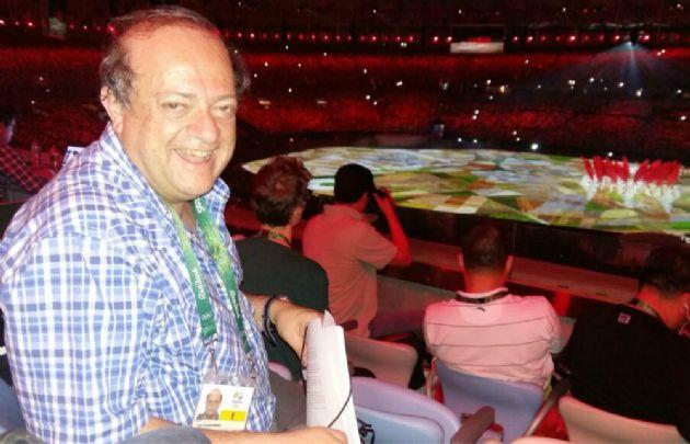 Jorge Parodi, enviado especial de Cadena 3 en Río.