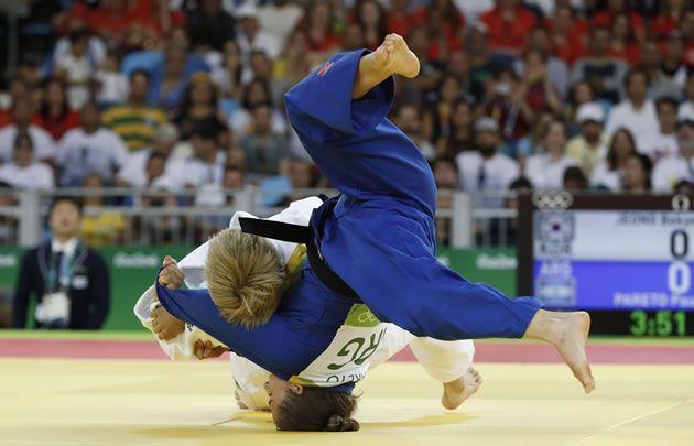 Pareto logró una histórica medalla de oro en judo.