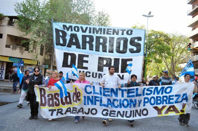 Barrios de Pie participó de la procesión de San Cayetano (Foto: Archivo)