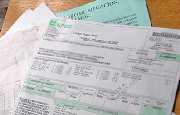 """Desde 2010 a 2017 Epec aumentó en 737% la tarifa"", dijo Quinteros."