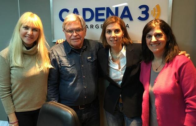 Florencia Bonelli en Viva la Radio.