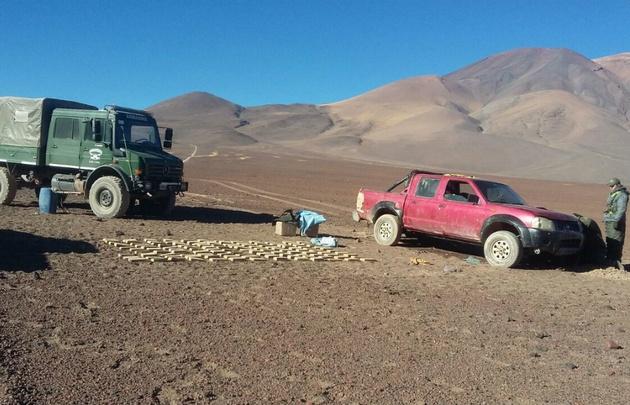 Secuestraron 109 kilogramos de marihuana en Salta.